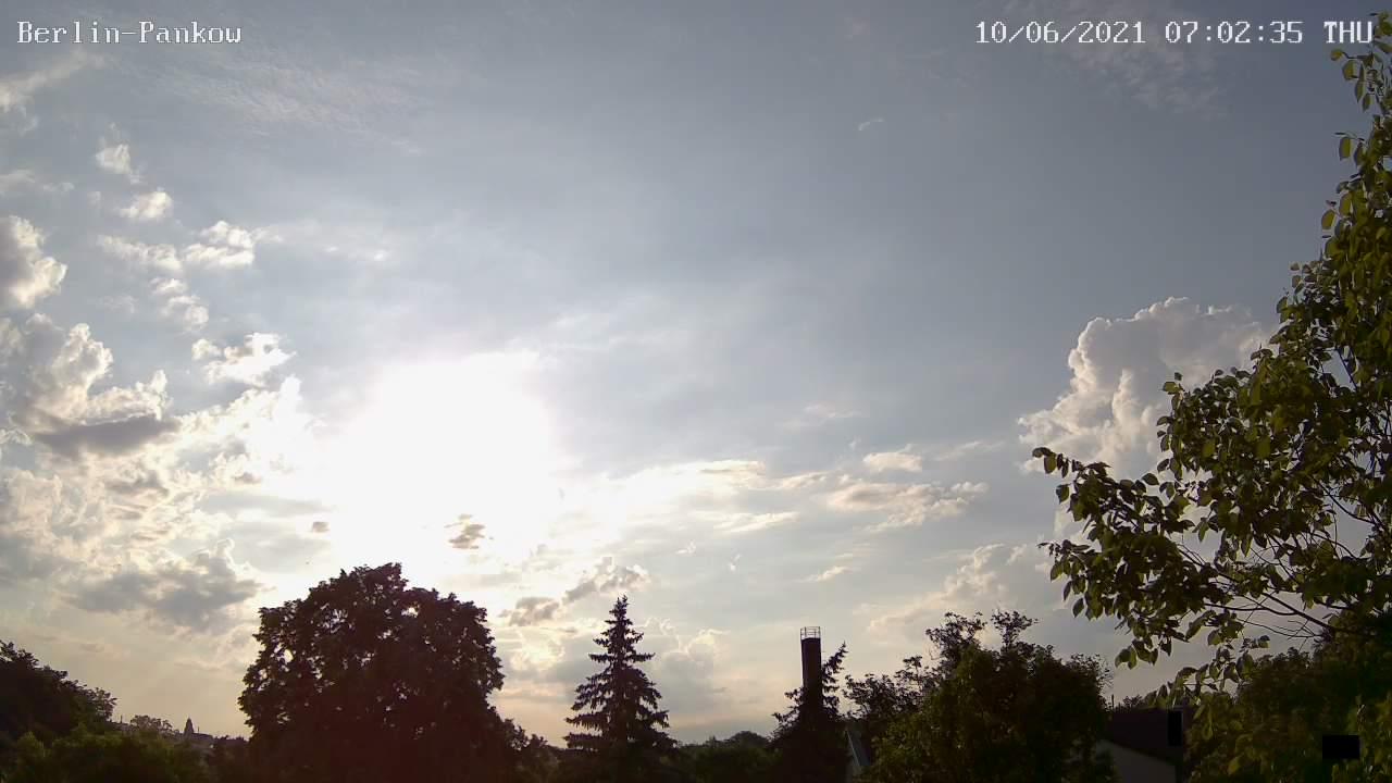 Webcam-Bild von 7 Uhr