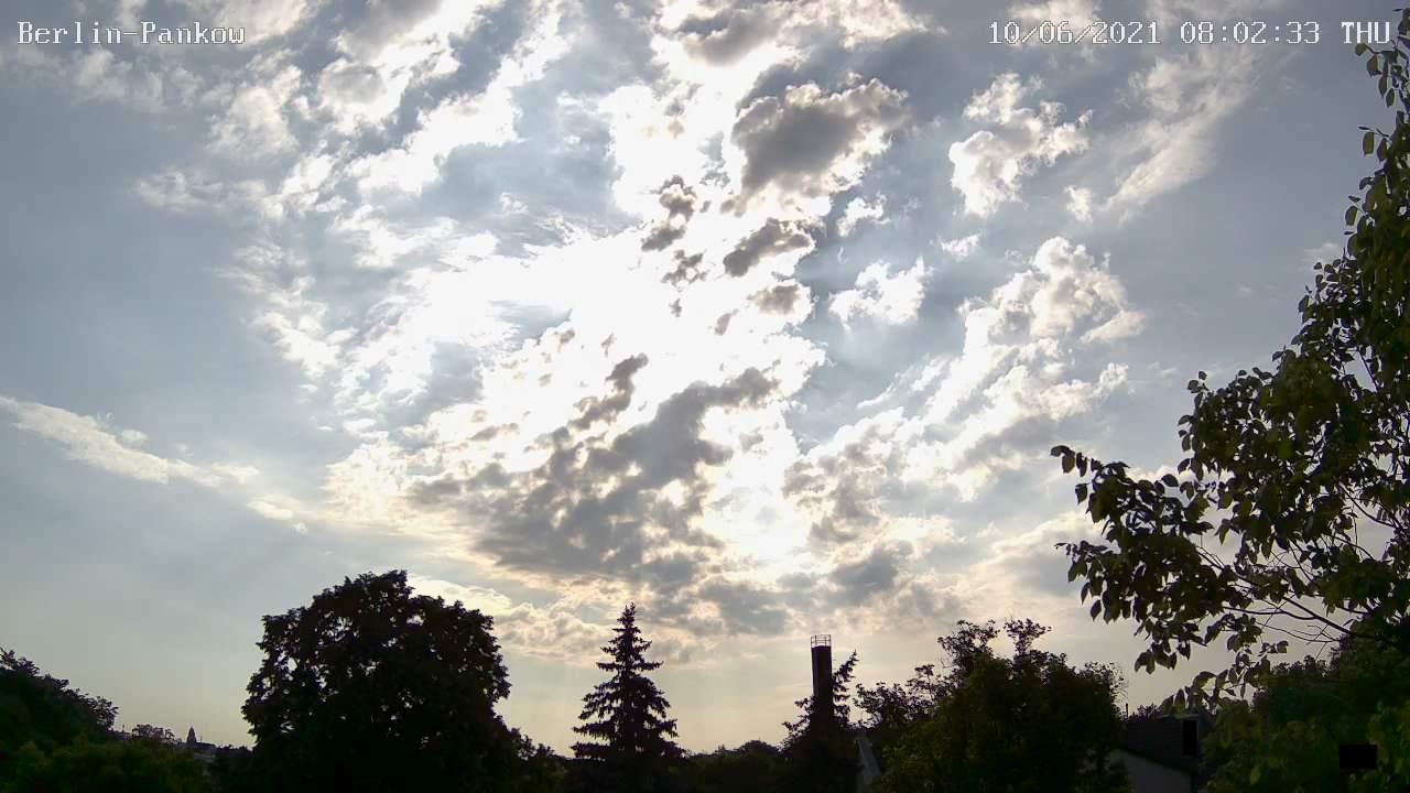 Webcam-Bild von 8 Uhr