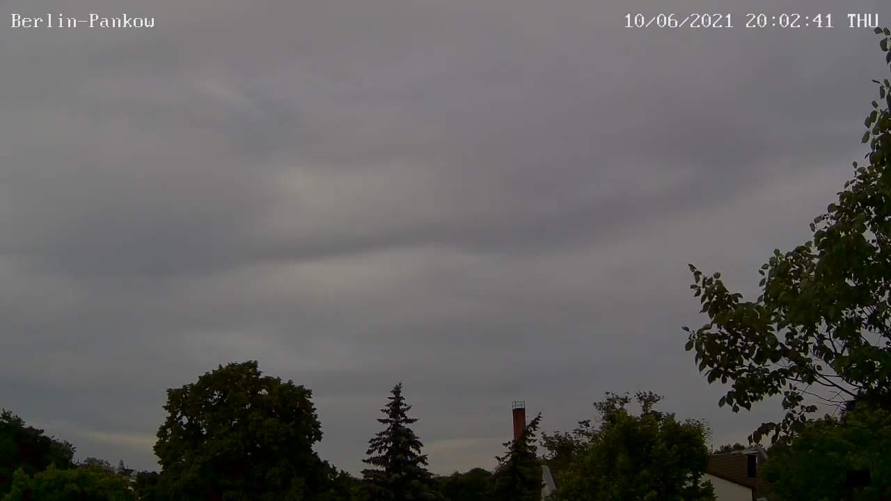 Webcam-Bild von 20 Uhr